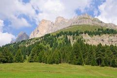 Catinaccio/Rosengartenspitze - Dolomia, Italia Immagine Stock Libera da Diritti