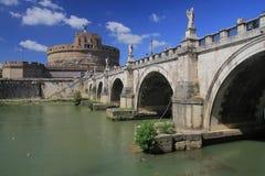 Catle и мост в Ватикане Стоковые Изображения RF