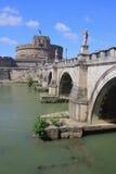Catle i most w Watykan Zdjęcie Royalty Free