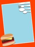 catlery бургера Стоковая Фотография RF