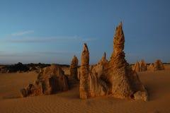 Catles da areia no deserto dos pináculos um destino da obrigação a visitar Imagem de Stock Royalty Free