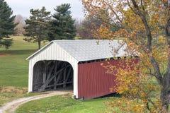 Catlin Covered Bridge Stock Photo