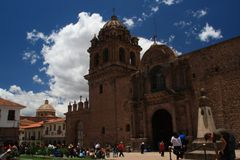 Catolic Cathedral in Cusco, Peru Stock Photography