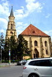 Catolic church in Cluj-Napoca, Transylvania Stock Photo