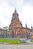 Catolic Church in Vldaimir Stock Photo