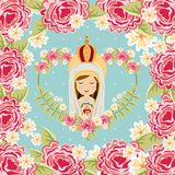 Catolic religion design Royalty Free Stock Image