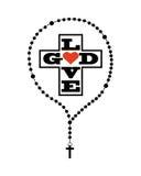 Catolic religion design Stock Images
