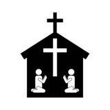 Catolic religion design Royalty Free Stock Photography