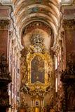 Catolic temple of Prague Royalty Free Stock Photo