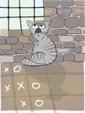 Catowsky, o gato de pensamento Foto de Stock