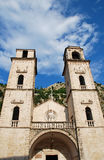 Kotor Cathedral in Montenegro. Royalty Free Stock Photo