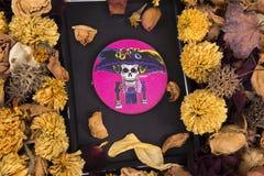Catrina, cráneo Fotografía de archivo libre de regalías