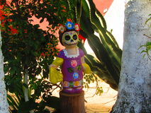 Catrina Maya Imagem de Stock