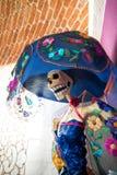 Catrina Mexican Folk Art Lady. Catrina Mexican Folk art colors Stock Photography