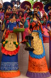 Catrinas Of Capula Created By Mexican Craftsmen Royalty Free Stock Image