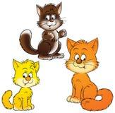 Cats royalty free illustration