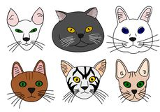 Free Cats Royalty Free Stock Image - 9590946