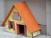 Cats Hostel in Riga, Latvia Royalty Free Stock Image