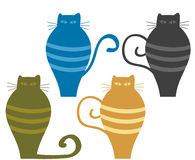 Cats illustration Royalty Free Stock Image