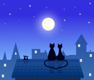 Cats and mouses Royalty Free Stock Photography