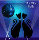 Cats party Stock Photography