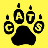 Cats Paw Represents Pet Care And Feline Royalty Free Stock Photography