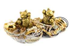 Cats talismans Royalty Free Stock Photos