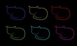 Cats texture Royalty Free Stock Photo