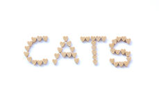 Cats treats Stock Photo
