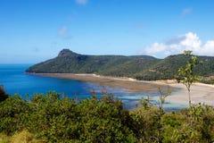 Catseye plaży Hamilton wyspa Zdjęcia Royalty Free