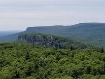 Catskill Mountains. Majestic view of upstate NY royalty free stock images