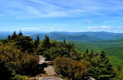 The Catskills. The Catskill Mountains of Upstate New York: taken from Twin Mountain Royalty Free Stock Image