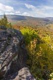 Catskills Clifftop sikt royaltyfri bild