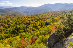 Catskills jesień Vista Zdjęcia Stock