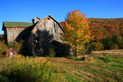 Catskills Weathered Farmhouse Royalty Free Stock Image