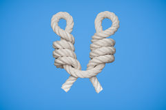 CatsPaw Knot Royalty Free Stock Image