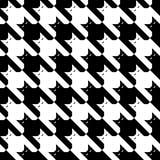 CatsTooth Pattern_Black-White Imágenes de archivo libres de regalías