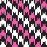 Catstoothpatroon Stock Afbeeldingen