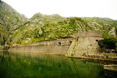 Cattaro, Montenegro, San Giovanni Castle Fotografia Stock
