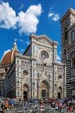 Cattedrale二圣玛丽亚del菲奥雷花的圣玛丽Cathedral  免版税库存图片