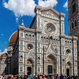 Cattedrale二圣玛丽亚del菲奥雷花的圣玛丽Cathedral  库存照片