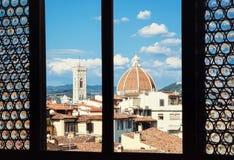 Cattedrale二圣玛丽亚del菲奥雷,佛罗伦萨,意大利 库存图片