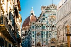 Cattedrale二圣玛丽亚del菲奥雷,意大利 库存照片