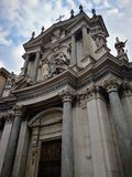 Cattedrale royaltyfri fotografi