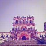 Cattedrale in Alcobaca fotografia stock libera da diritti