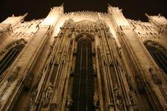 Cattedrale alla notte Immagine Stock Libera da Diritti