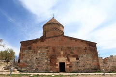 Cattedrale armena in Van City, Turchia Fotografia Stock