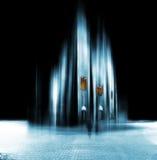 Cattedrale astratta Fotografie Stock