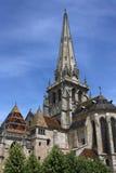 Cattedrale in Autun Fotografia Stock