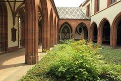 Cattedrale a Basilea Fotografia Stock Libera da Diritti
